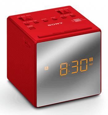 Радиобудильник Sony ICF-C1T красный