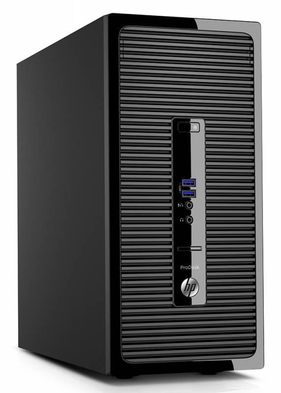 Системный блок HP ProDesk 400 G3 черный - фото 2