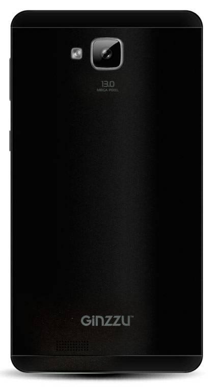 Смартфон Ginzzu ST6040 8ГБ черный - фото 2