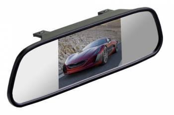 Зеркало заднего вида с монитором Silverstone F1 Interpower IP Mirror (MIR-IP-4.3)