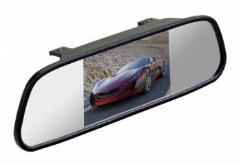 "Зеркало заднего вида с монитором Silverstone F1 Interpower IP Mirror 5"" (MIR-IP-5)"