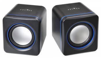 Колонки 2.0 Oklick OK-301 черный / синий