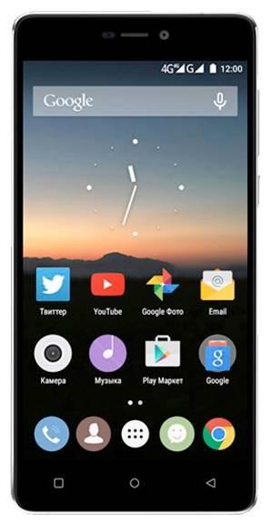Смартфон HighScreen Power Five PRO черный/серый - фото 1