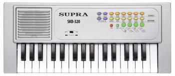 Синтезатор Supra SKB-320 серебристый