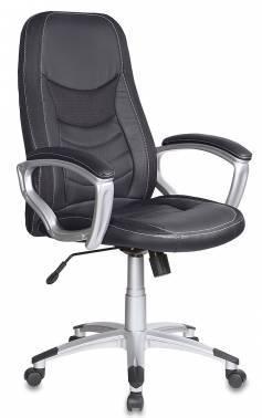 Кресло руководителя Бюрократ T-9910 черный (T-9910/BLACK)