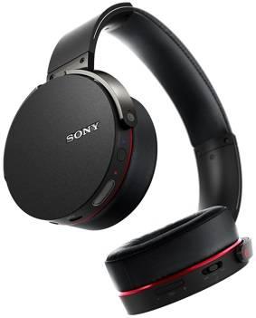 Гарнитура Sony MDRXB950BTB.E черный - фото 2