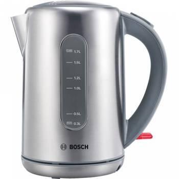 Чайник электрический Bosch TWK7901 серебристый