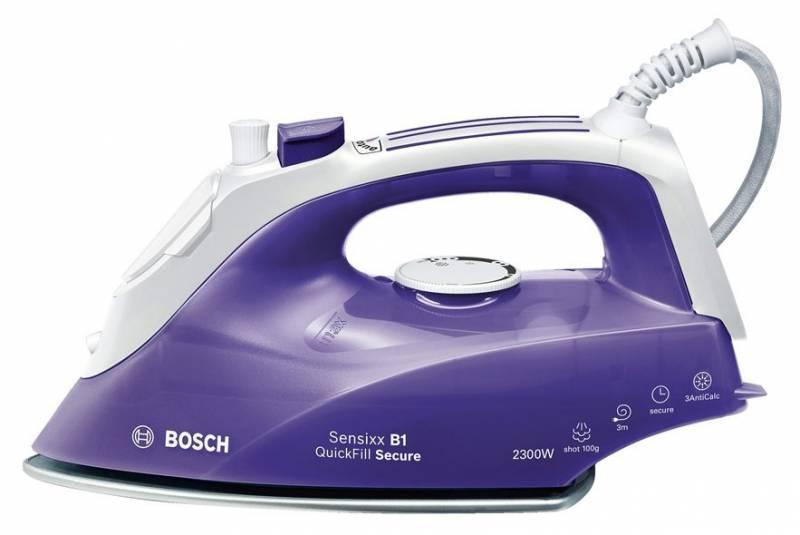 Утюг Bosch TDA2680 фиолетовый/белый - фото 1