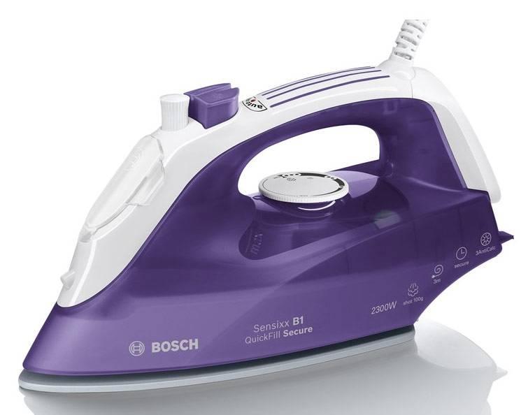 Утюг Bosch TDA2680 фиолетовый/белый - фото 2
