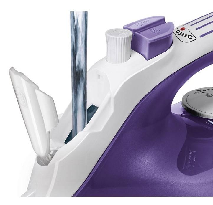 Утюг Bosch TDA2680 фиолетовый/белый - фото 3
