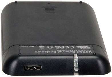 Внешний корпус для HDD AgeStar 31UB2A8 SATA черный - фото 2