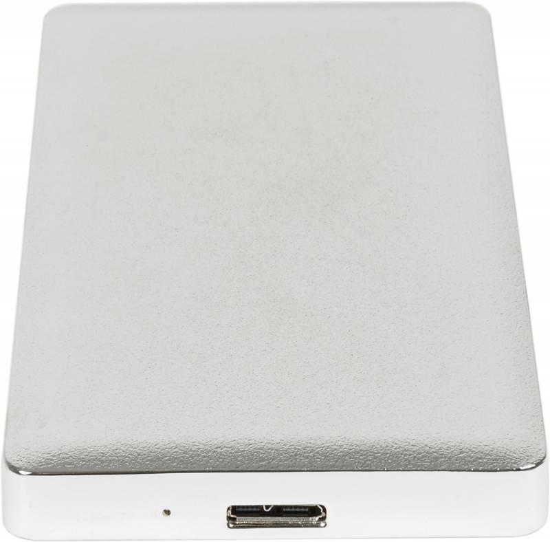 Внешний корпус для HDD/SSD AgeStar 31UB2A15 SATA серебристый - фото 4