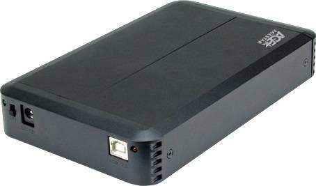 Внешний корпус для HDD AgeStar 3UB3O8 SATA черный - фото 2