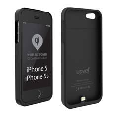 Чехол Upvel UQ-CI5 STINGRAY, для Apple iPhone 5/5s, черный - фото 1