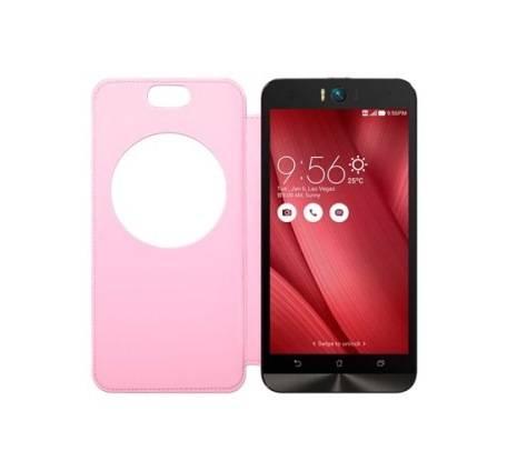 Чехол для смартфона ASUS MyView Cover Delux  Asus ZenFone Selfie ZD551KL полиуретан/поликарбонат розовый - фото 2