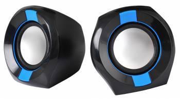 Колонки 2.0 Oklick OK-203 черный / синий