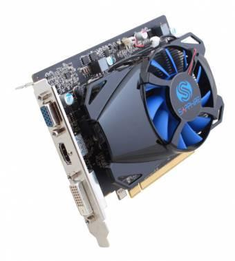 Видеокарта Sapphire AMD Radeon R7 250 11215-19-20G 1024Mb 128bit GDDR5 925/4500 PCI-E DVIx1/HDMIx1/CRTx1/HDCP Ret