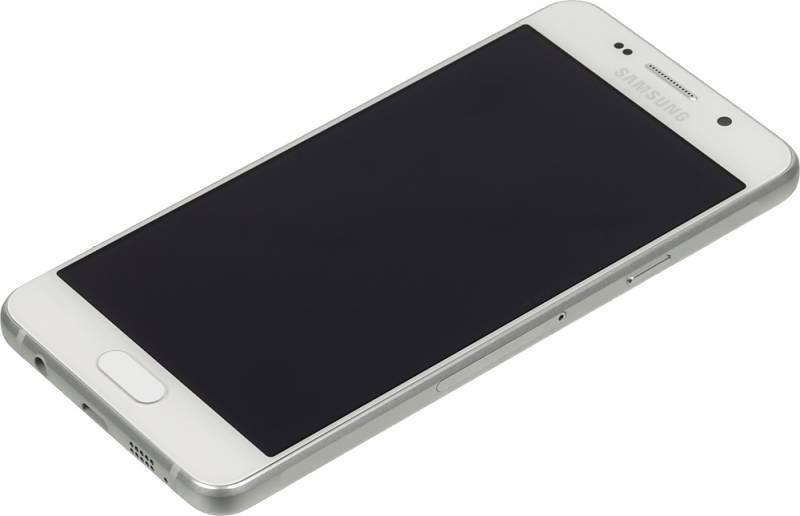 Смартфон Samsung Galaxy A7 (2016) SM-A710F 16ГБ белый - фото 3