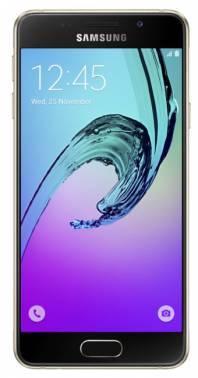 Смартфон Samsung Galaxy A3 (2016) SM-A310F 16ГБ золотистый