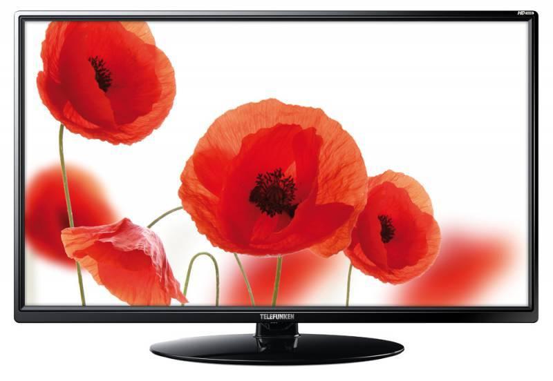 """Телевизор LED 23.6"""" Telefunken TF-LED24S34 черный - фото 1"""