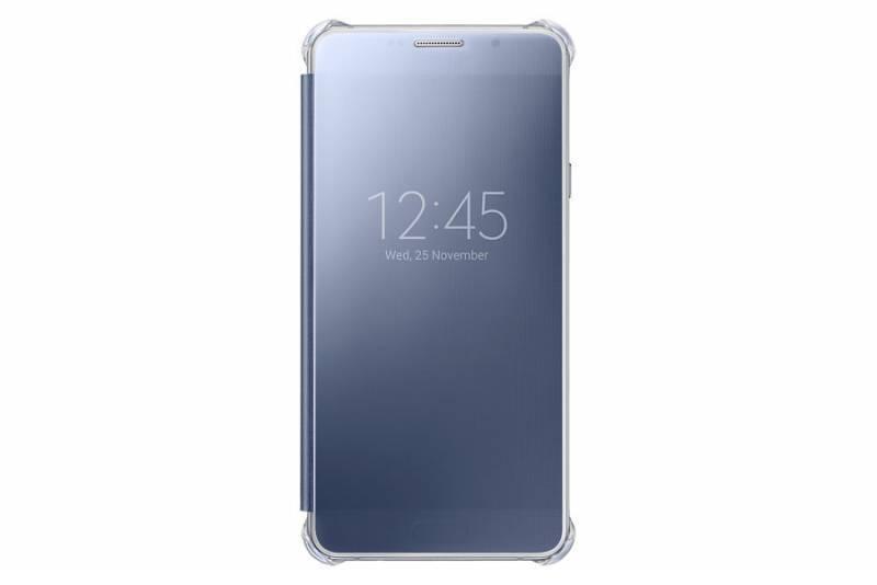 Чехол Samsung Clear View Cover, для Samsung Galaxy A7 (2016), синий (EF-ZA710CBEGRU) - фото 3
