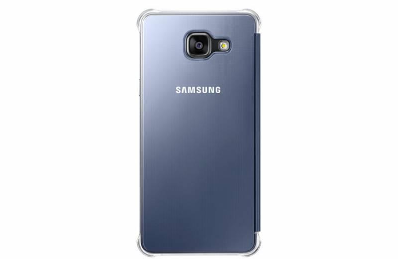 Чехол Samsung Clear View Cover, для Samsung Galaxy A5 (2016), темно-синий/прозрачный (EF-ZA510CBEGRU) - фото 1