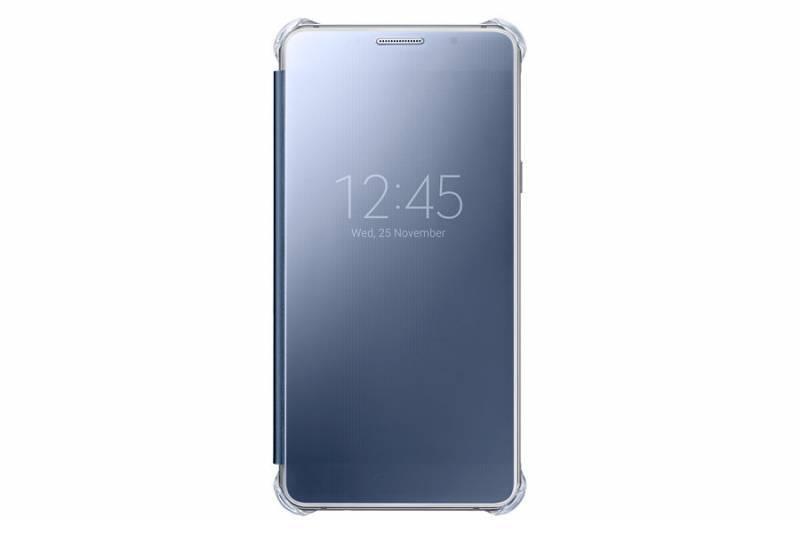 Чехол Samsung Clear View Cover, для Samsung Galaxy A5 (2016), темно-синий/прозрачный (EF-ZA510CBEGRU) - фото 3