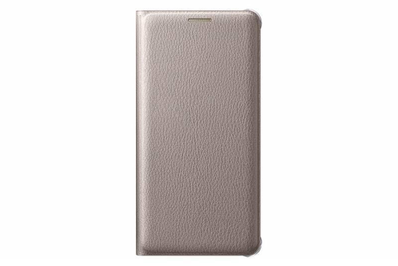 Чехол (флип-кейс) Samsung Flip Wallet золотистый - фото 3