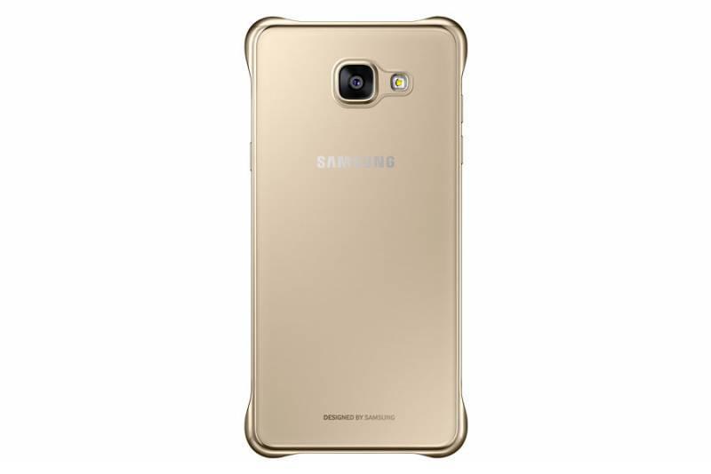 Чехол (клип-кейс) Samsung Clear Cover золотистый/прозрачный - фото 2