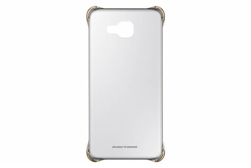Чехол (клип-кейс) Samsung Clear Cover золотистый/прозрачный - фото 3