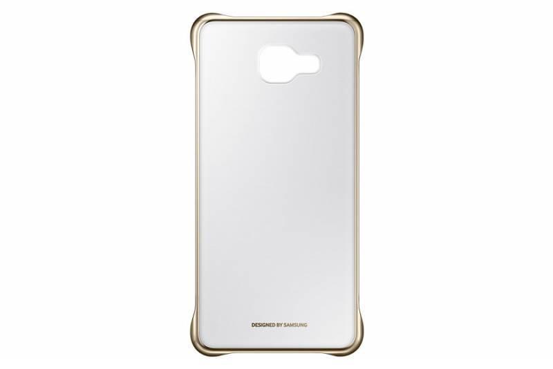 Чехол (клип-кейс) Samsung Clear Cover золотистый/прозрачный - фото 4