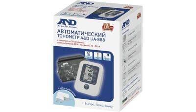 Тонометр автоматический A&D UA-888AC E M (I01001) - фото 2
