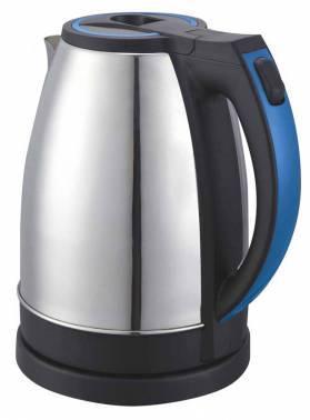 Чайник электрический Supra KES-2231 серебристый/синий (9904)