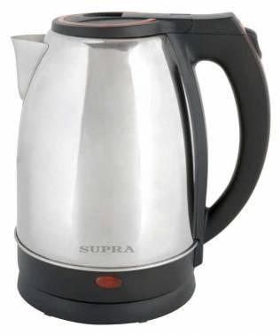 Чайник электрический Supra KES-2231 серебристый/красный (9905)