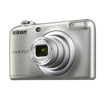Фотоаппарат Nikon CoolPix A10 серебристый (VNA980E1) - фото 1