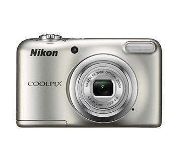 Фотоаппарат Nikon CoolPix A10 серебристый (VNA980E1) - фото 2
