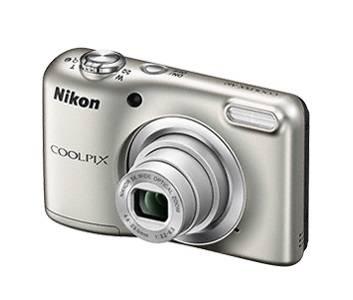 Фотоаппарат Nikon CoolPix A10 серебристый (VNA980E1) - фото 4