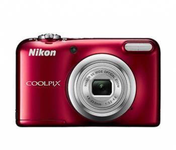 Фотоаппарат Nikon CoolPix A10 красный (VNA982E1)
