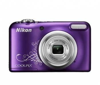 Фотоаппарат Nikon CoolPix A10 фиолетовый/рисунок (VNA983E1)