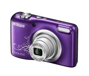 Фотоаппарат Nikon CoolPix A10 фиолетовый/рисунок (VNA983E1) - фото 2