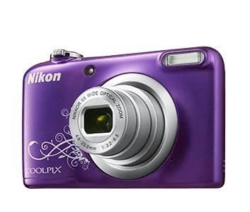 Фотоаппарат Nikon CoolPix A10 фиолетовый/рисунок (VNA983E1) - фото 3