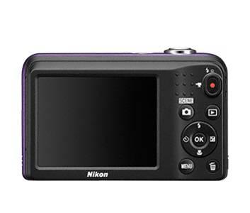 Фотоаппарат Nikon CoolPix A10 фиолетовый/рисунок (VNA983E1) - фото 4