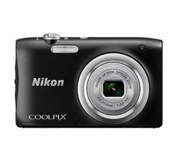 Фотоаппарат Nikon CoolPix A100 черный (VNA971E1)