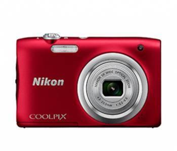Фотоаппарат Nikon CoolPix A100 красный (VNA972E1)