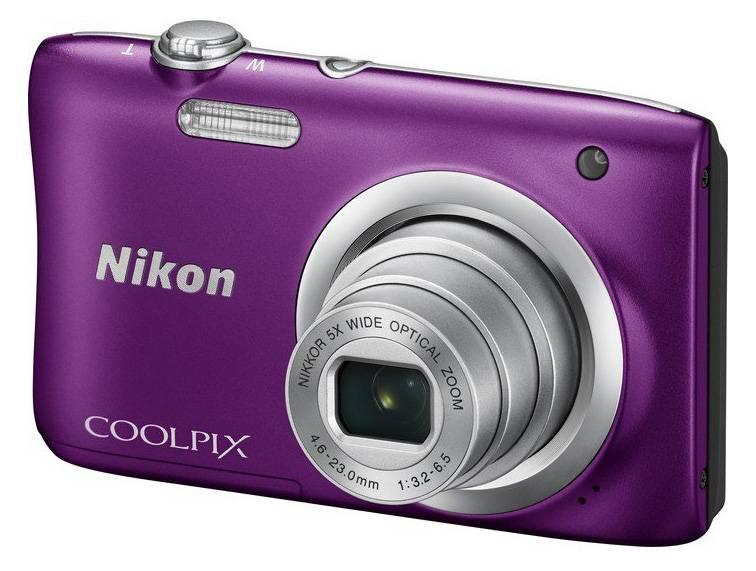 Фотоаппарат Nikon CoolPix A100 фиолетовый (VNA973E1) - фото 1