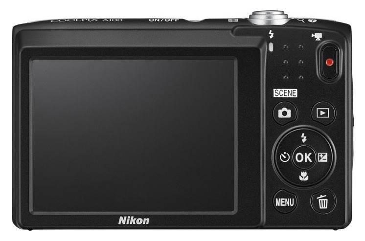Фотоаппарат Nikon CoolPix A100 фиолетовый (VNA973E1) - фото 2