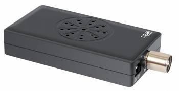 Ресивер DVB-T2 Rolsen RDB-532 черный
