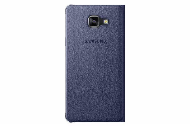 Чехол (клип-кейс) Samsung Flip Wallet черный - фото 1