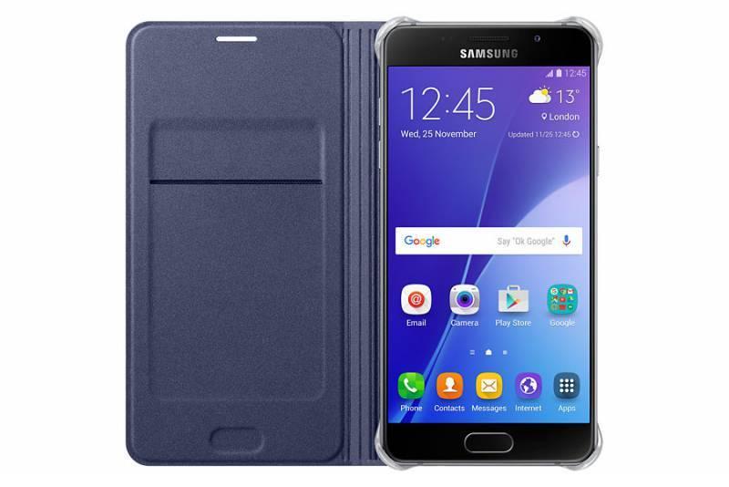 Чехол (клип-кейс) Samsung Flip Wallet черный - фото 2