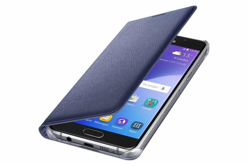 Чехол (клип-кейс) Samsung Flip Wallet черный - фото 3